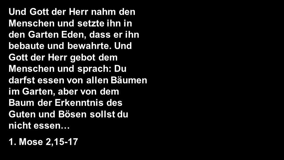Da sprach die Schlange zur Frau: Ihr werdet keineswegs des Todes sterben, sondern Gott weiß: an dem Tage, da ihr davon esst, werden eure Augen aufgetan, und ihr werdet sein wie Gott und wissen, was gut und böse ist.