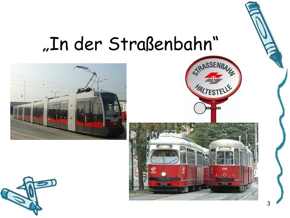 In der Straßenbahn 3