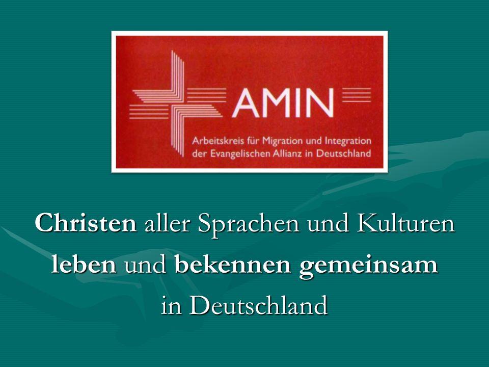 Christen aller Sprachen und Kulturen leben und bekennen gemeinsam in Deutschland