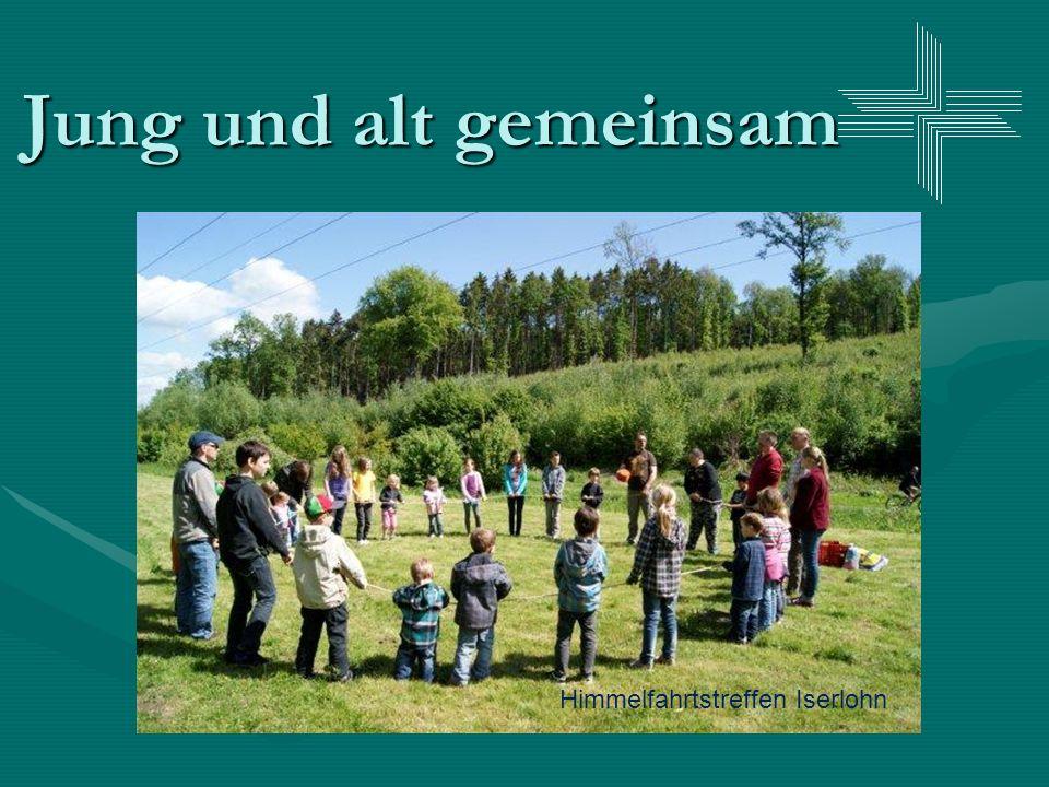 Jung und alt gemeinsam Himmelfahrtstreffen Iserlohn