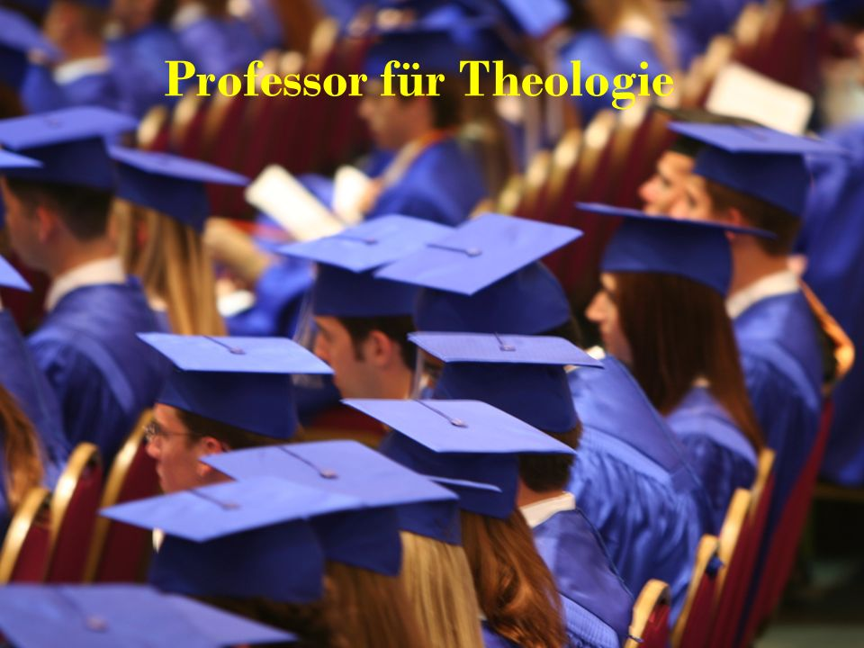 Professor für Theologie