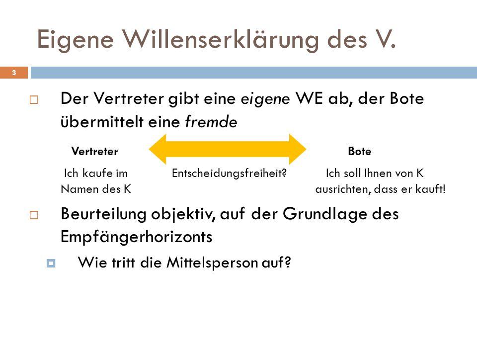 Gesetzliche Vertretungsmacht 34 § 6 GmbHG [Geschäftsführer] (1) Die Gesellschaft muss einen oder mehrere Geschäftsführer haben.