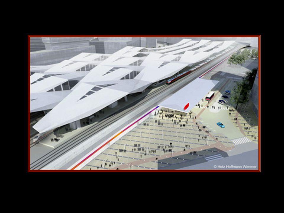 Visionen vom neuen Zentralbahnhof