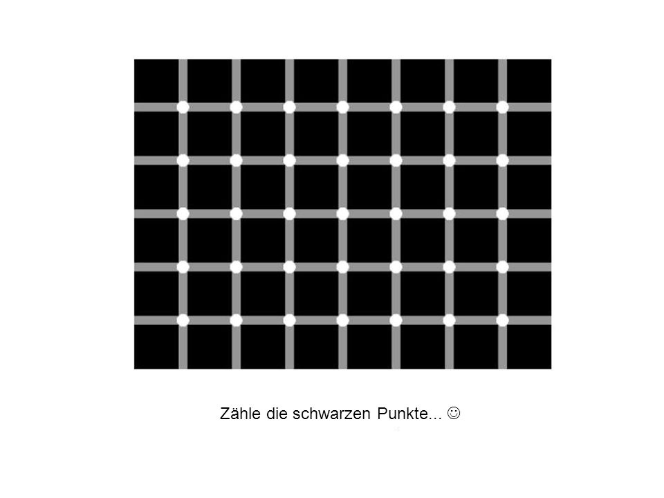 Sind die horizontalen Linien parallel oder unterschiedlich gebogen?