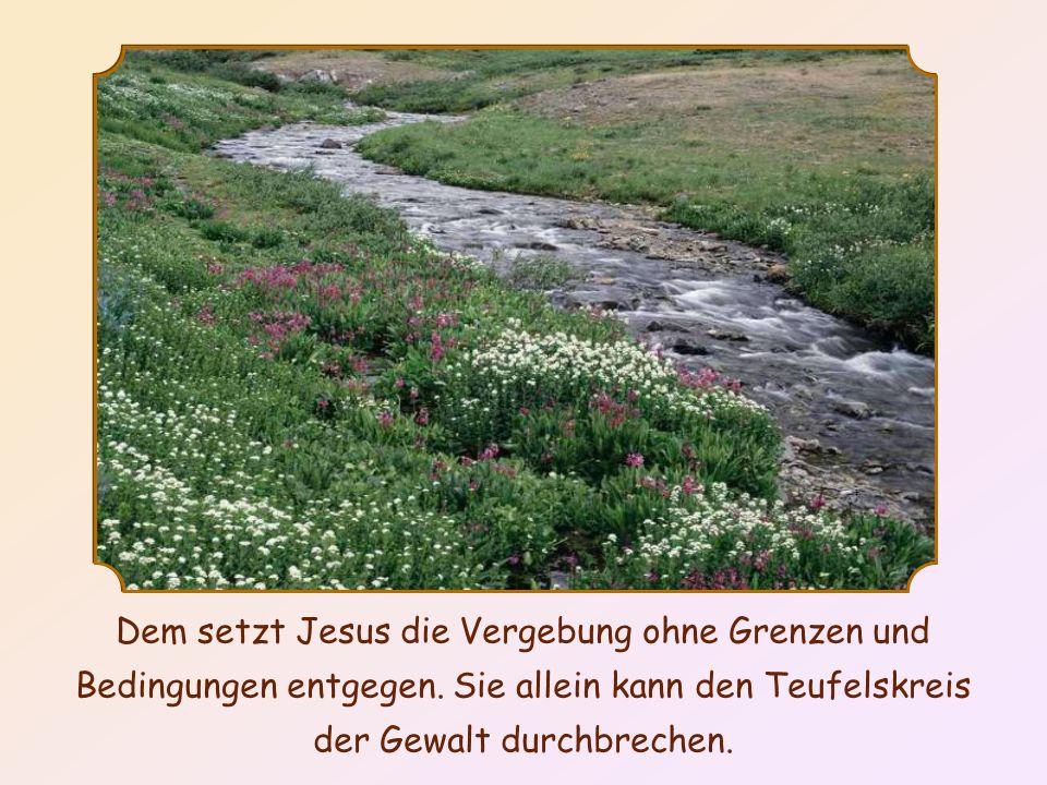 Dieses Wort erinnert an einen Vers aus dem Buch Genesis: Wird Kain siebenfach gerächt, dann Lamech siebenundsiebzigfach.
