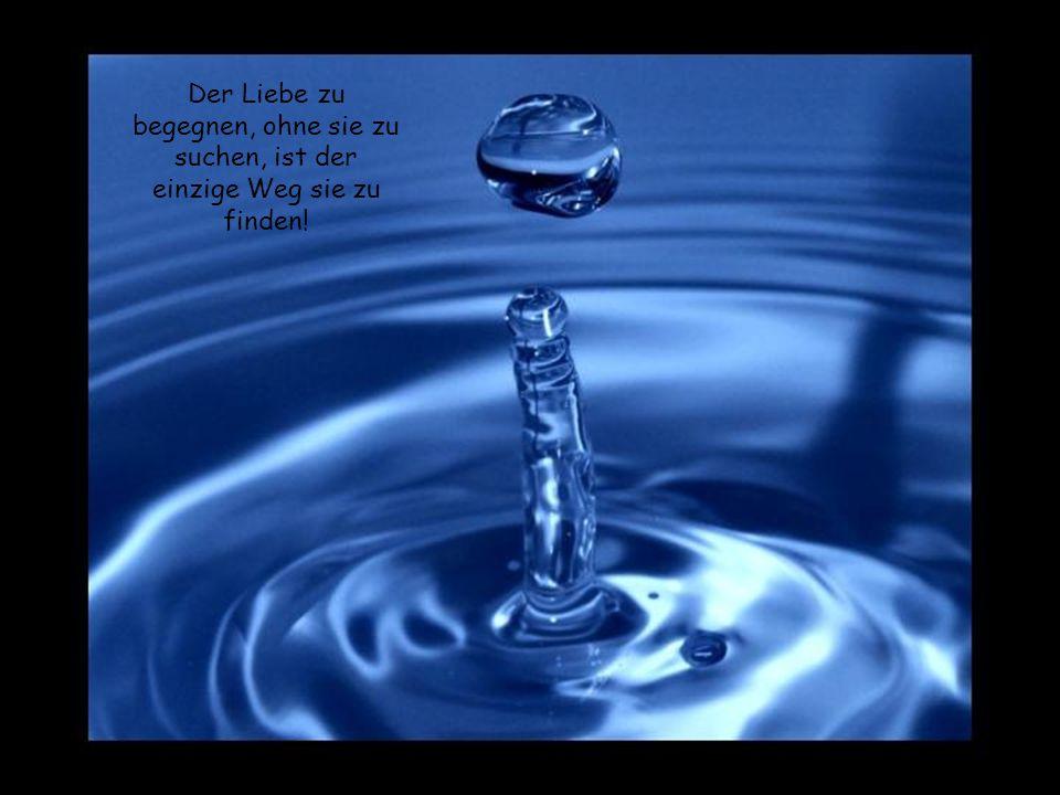 Versuche nicht die Vergangenheit rückgängig zu machen, denn verschüttetes Wasser ist schwer zu sammeln