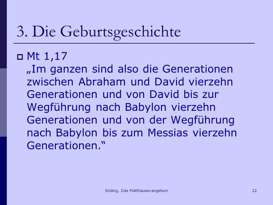 Söding, Das Matthäusevangelium22 3.
