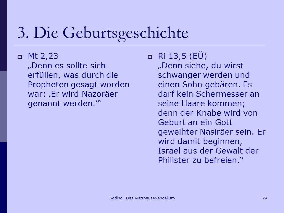 Söding, Das Matthäusevangelium29 3.