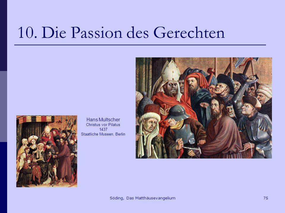 Söding, Das Matthäusevangelium75 10.