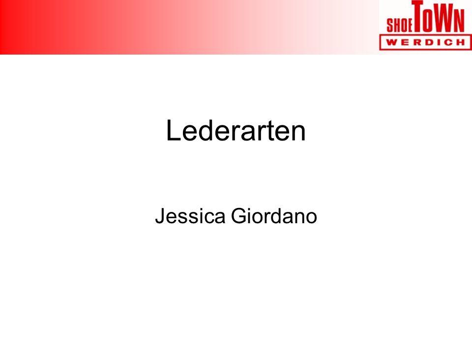 Lederarten Jessica Giordano