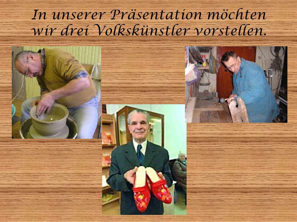 Ein Töpfer aus Kistelek: György Bitó Er arbeitet seit 1999 als Töpfer, und lehrt auch in der Kunstschule in Kistelek.
