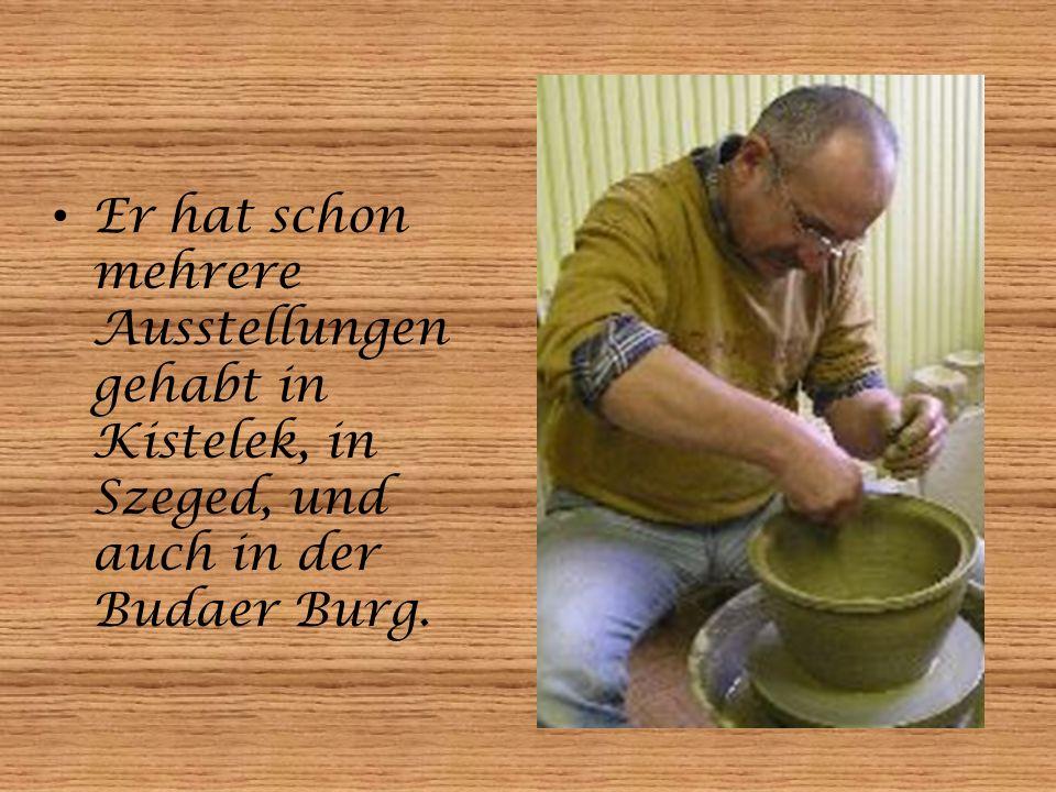 Unsere Gäste und Schüler hatten im Dezember auch die Möglichkeit, mit ihm in seinem Werkstatt zusammen zu arbeiten.