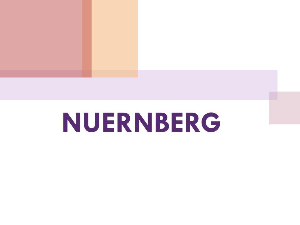 Nuernberg ist mit über 500. 000 Einwohnern die zweitgrößte Stadt Bayerns.