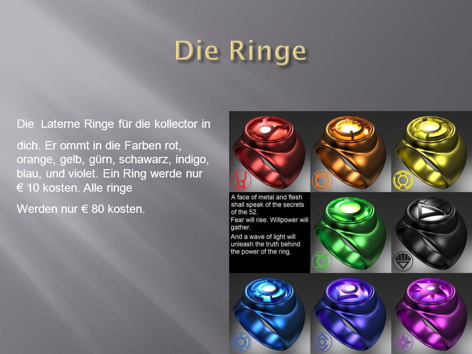 Die Laterne Ringe für die kollector in dich.