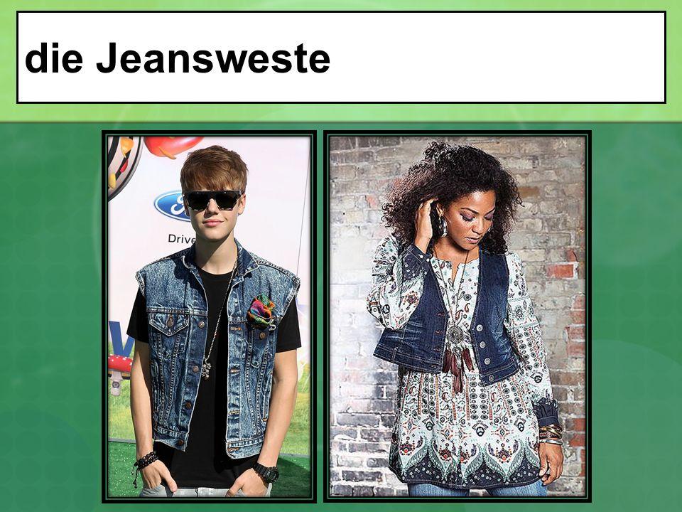 die Jeansweste