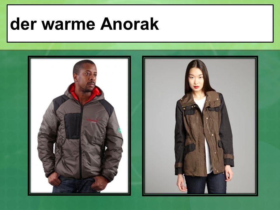 der warme Anorak