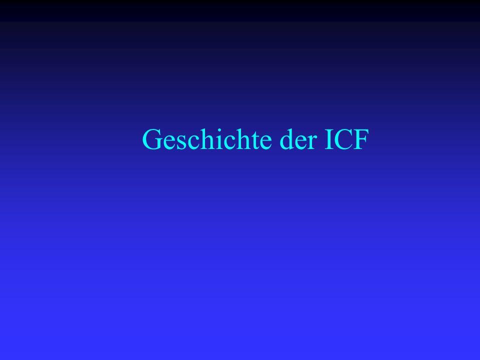 Geschichte der ICF