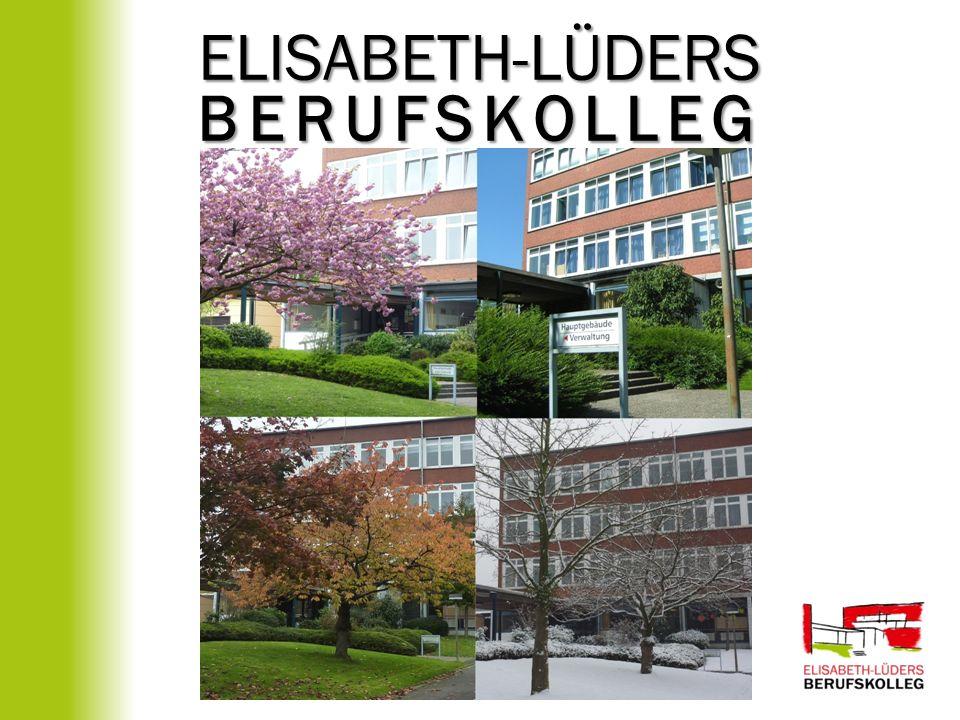 Allgemeine Hochschulreife am Elisabeth-Lüders-Berufskolleg Bildungsgang Berufliches Gymnasium Schwerpunkte: Gesundheit Abitur + berufliche Kenntnisse im Schwerpunkt Erziehungswissenschaften