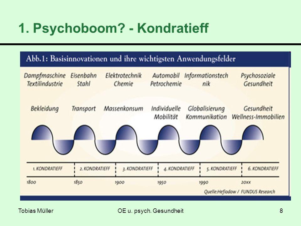 Tobias MüllerOE u. psych. Gesundheit8 1. Psychoboom? - Kondratieff