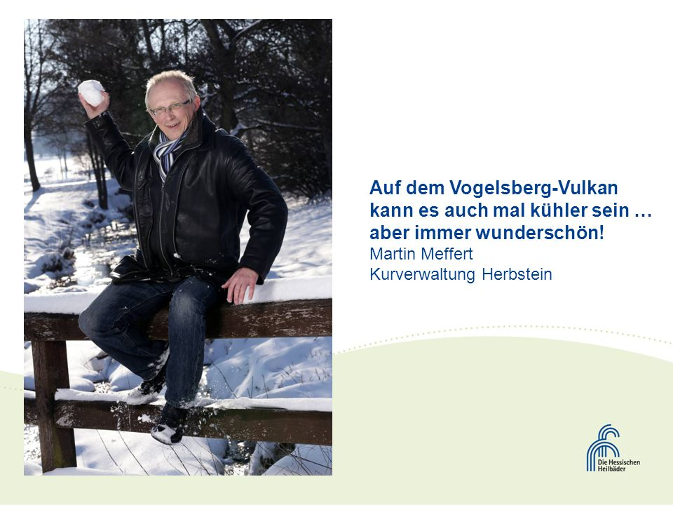Auf dem Vogelsberg-Vulkan kann es auch mal kühler sein … aber immer wunderschön.