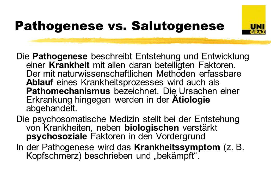 Pathogenese vs.