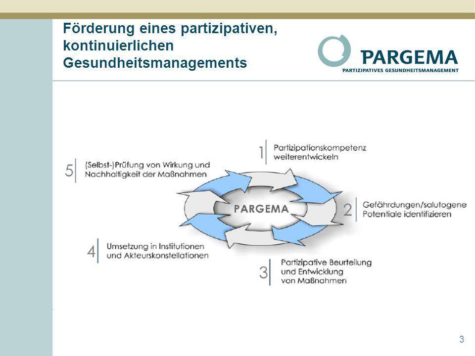 Förderung eines partizipativen, kontinuierlichen Gesundheitsmanagements 3