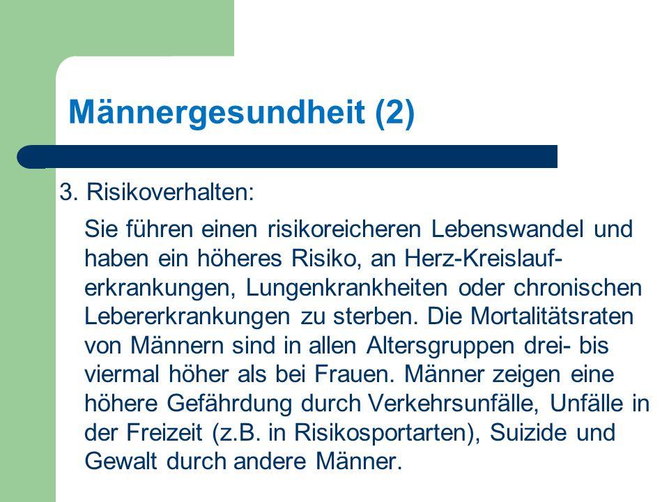 Männergesundheit (2) 3.
