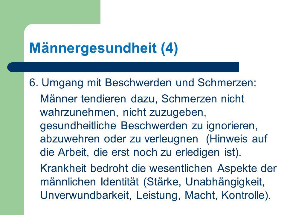 Männergesundheit (4) 6.