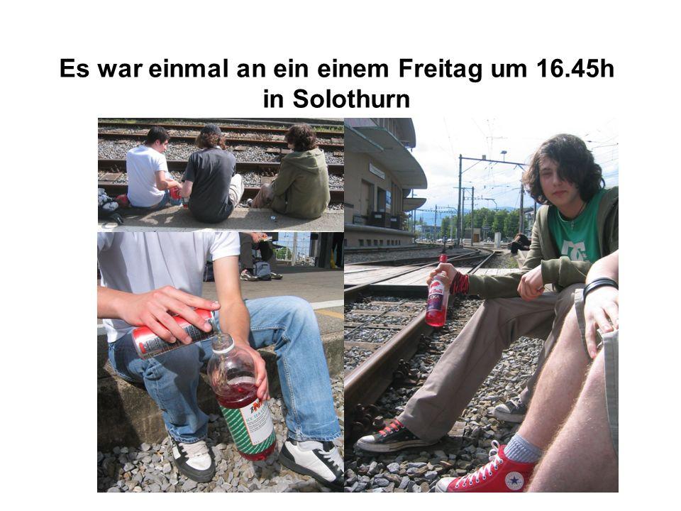 Es war einmal an ein einem Freitag um 16.45h in Solothurn