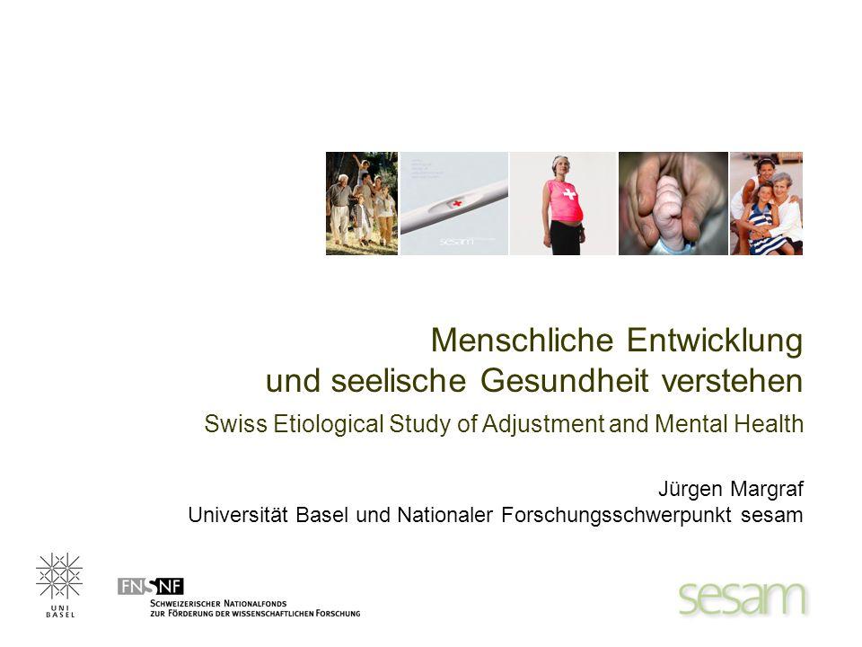 Menschliche Entwicklung und seelische Gesundheit verstehen Jürgen Margraf Universität Basel und Nationaler Forschungsschwerpunkt sesam Swiss Etiologic