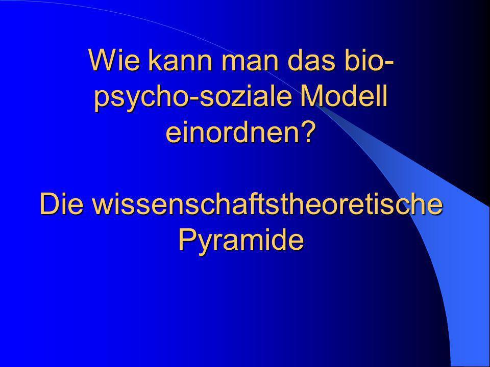Wissenschaftstheoretische Pyramide Metatheorien (Wissenschaftstheorie, Erkenntnistheorie, Ontologie u.a.) > Occupation, dtsch.