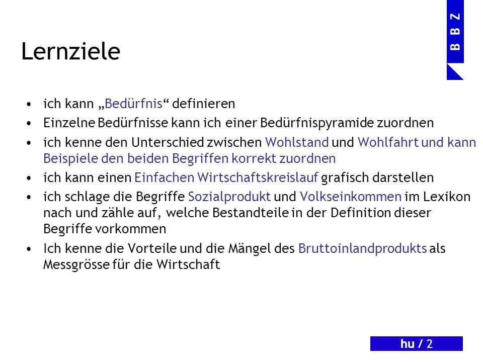 hu / 12 Der erweiterte Wirtschaftskreislauf Waren u.