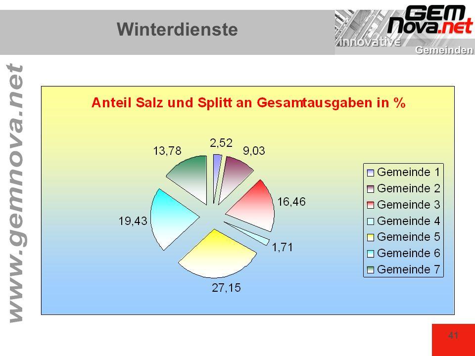 41 Winterdienste