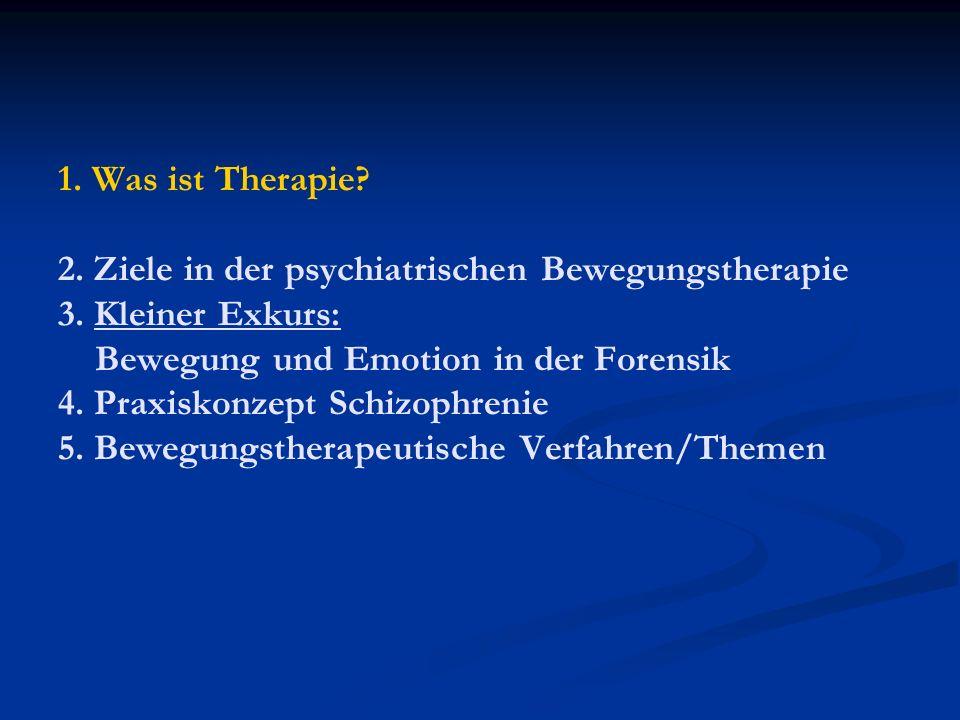 Therapie Therapie ist ein Sammelbegriff für Methoden und Verfahren, die in der Rehabilitation zur Regeneration und Resozialisierung sowie zur Beseitigung und Reduzierung von krankhaften Beschwerden oder Wiedereingliederung eingesetzt werden.