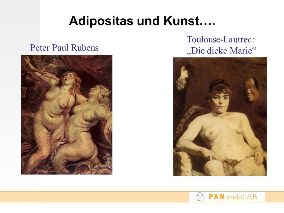 Adipositas und Kunst…. Toulouse-Lautrec: Die dicke Marie Peter Paul Rubens