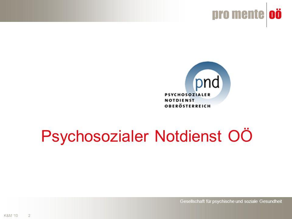 2 K&M 10 Psychosozialer Notdienst OÖ