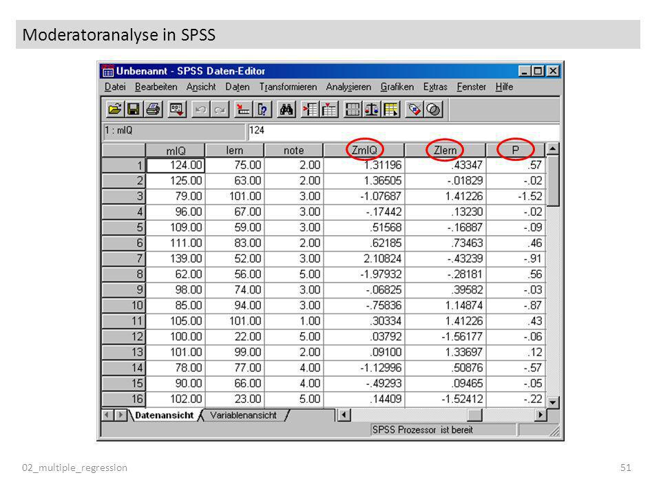 Moderatoranalyse in SPSS 02_multiple_regression51