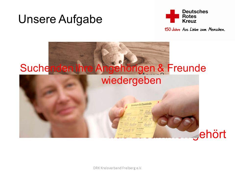 Unsere Einsatzfelder Katastrophenfälle DRK Kreisverband Freiberg e.V.