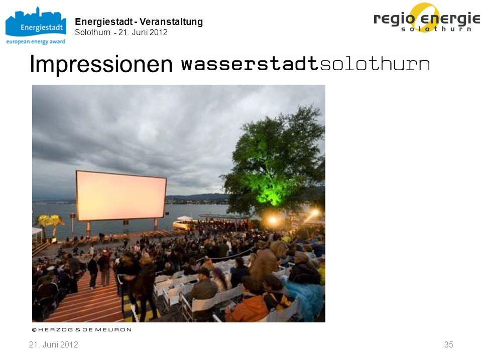 Energiestadt - Veranstaltung Solothurn - 21. Juni 2012 Impressionen 3521. Juni 2012