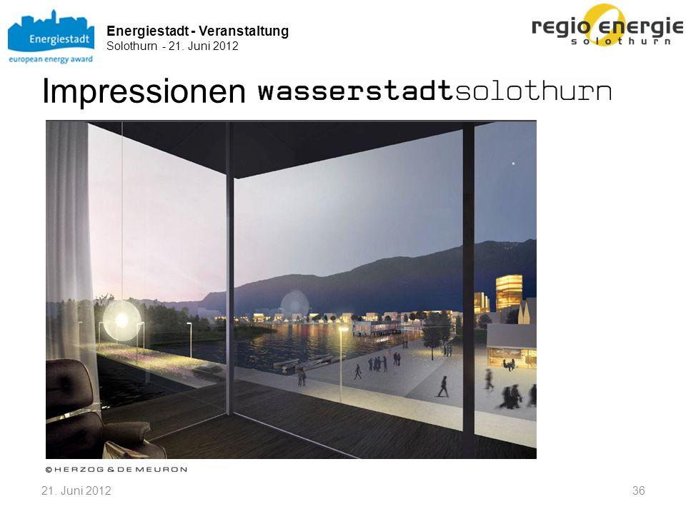 Energiestadt - Veranstaltung Solothurn - 21. Juni 2012 3621. Juni 2012 Impressionen