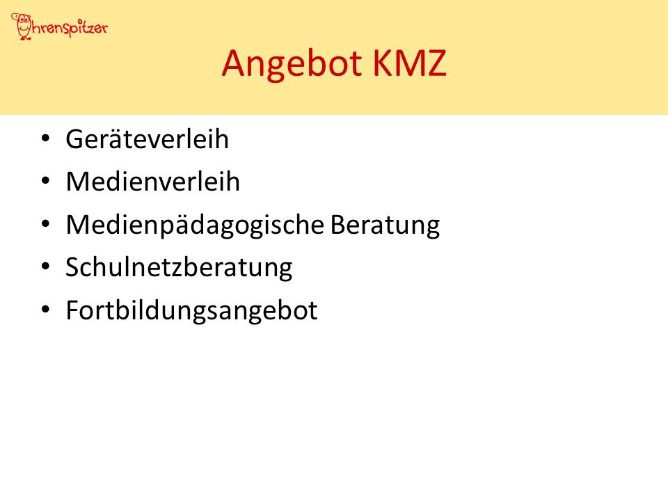 Ohrenspitzer Fortbildungen Beratung Materialien Internetangebot Schulentwicklung.dewww.