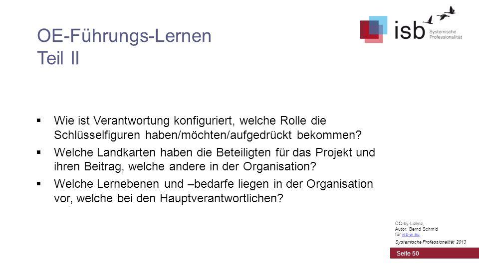 CC-by-Lizenz, Autor: Bernd Schmid für isb-w.euisb-w.eu Systemische Professionalität 2013 Wie ist Verantwortung konfiguriert, welche Rolle die Schlüsse