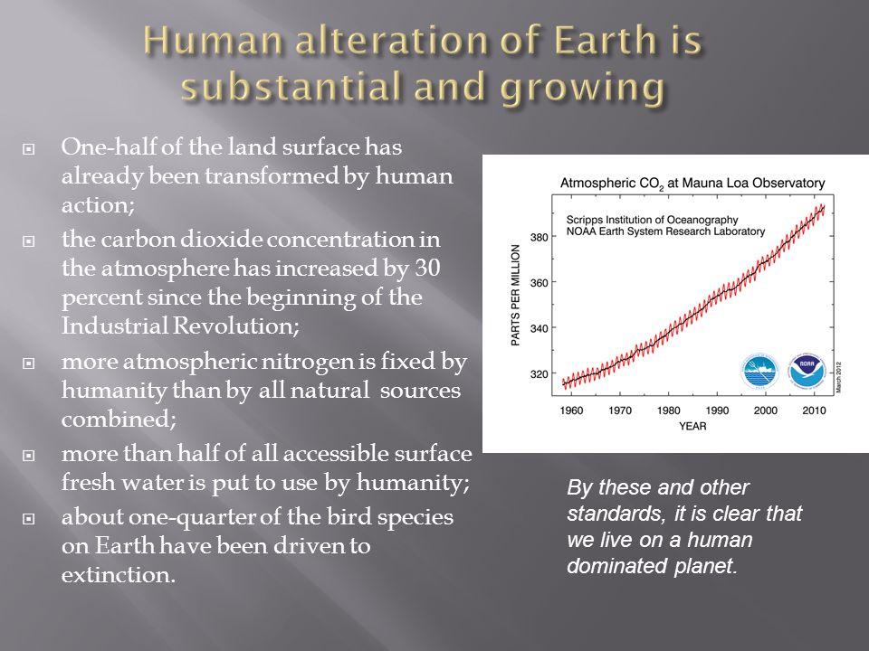 Eine der ersten anthropogenen Umweltgefährdungen, deren man sich bewusst geworden ist.