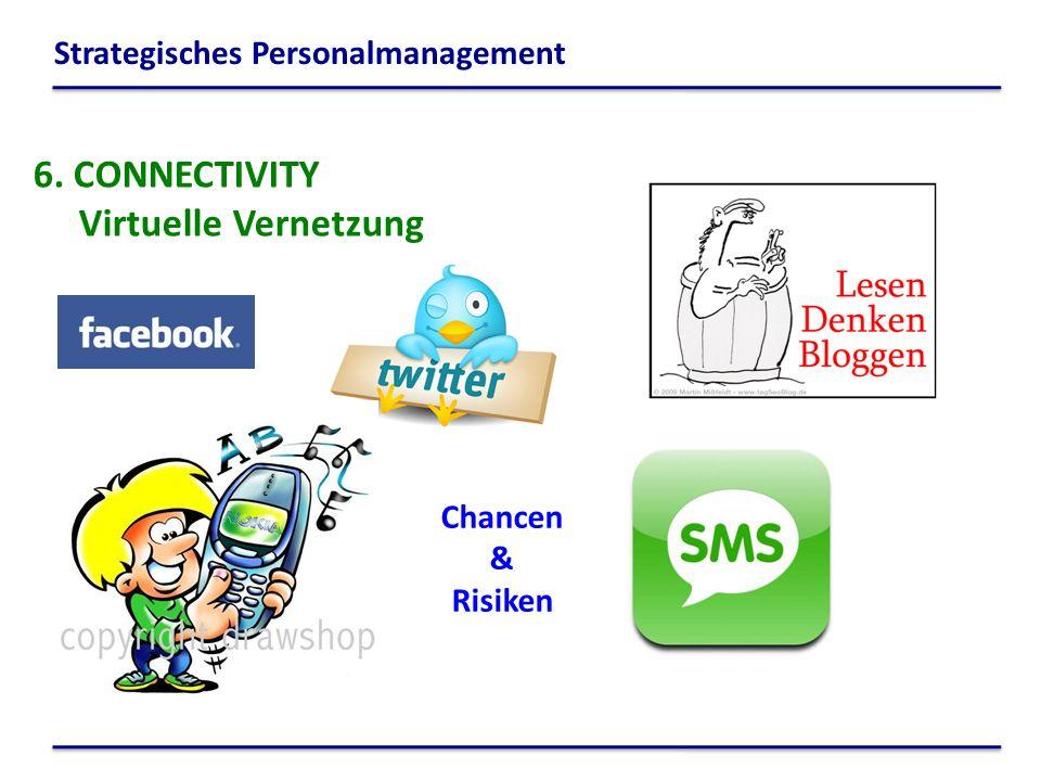 6. CONNECTIVITY Virtuelle Vernetzung Chancen & Risiken Strategisches Personalmanagement