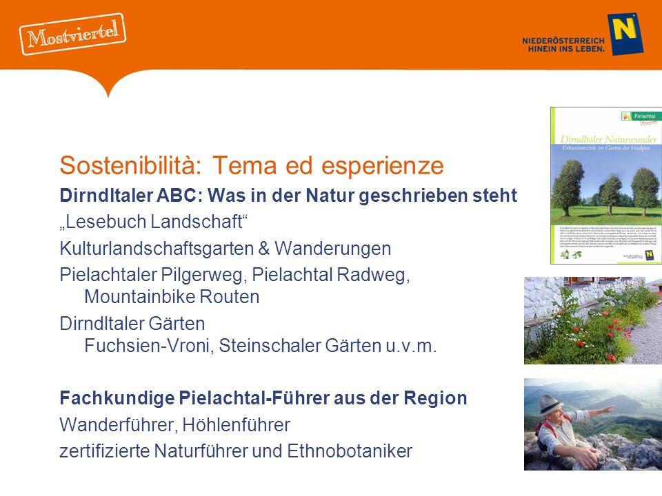 Sostenibilità: Tema ed esperienze Dirndltaler ABC: Was in der Natur geschrieben steht Lesebuch Landschaft Kulturlandschaftsgarten & Wanderungen Pielac