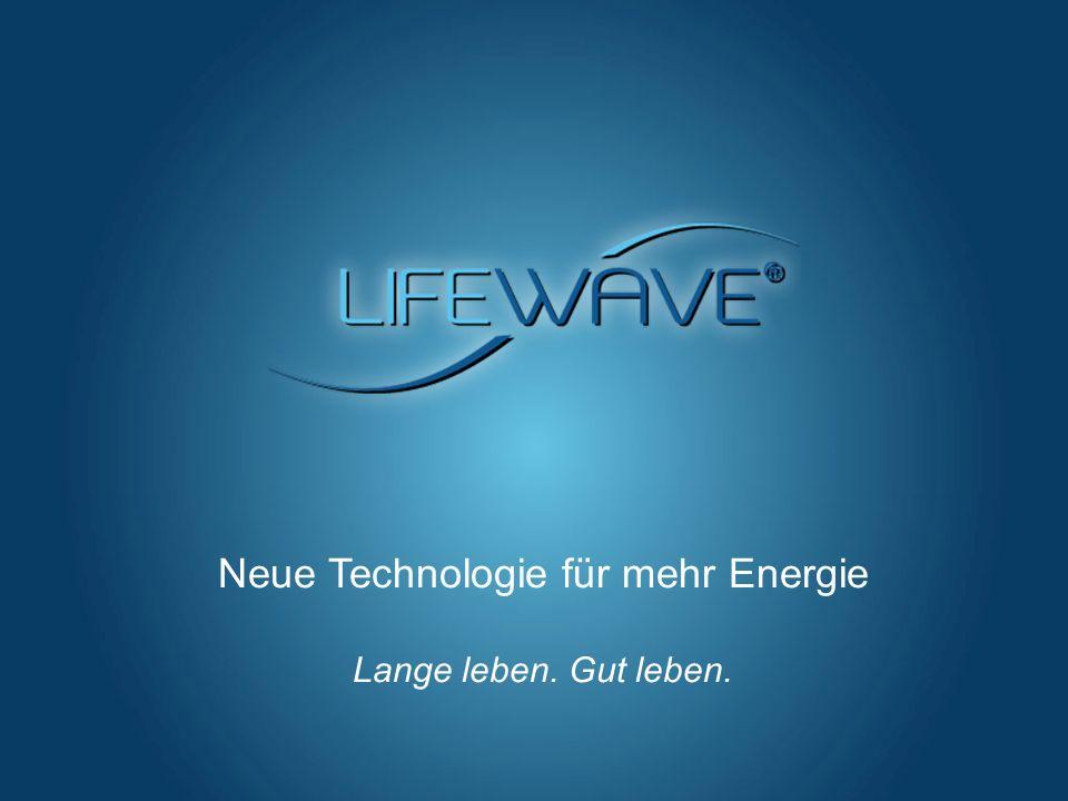 Hier klicken, um einen Titel hinzuzufügen Vorlage für Microsoft PowerPoint Neue Technologie für mehr Energie Lange leben. Gut leben.