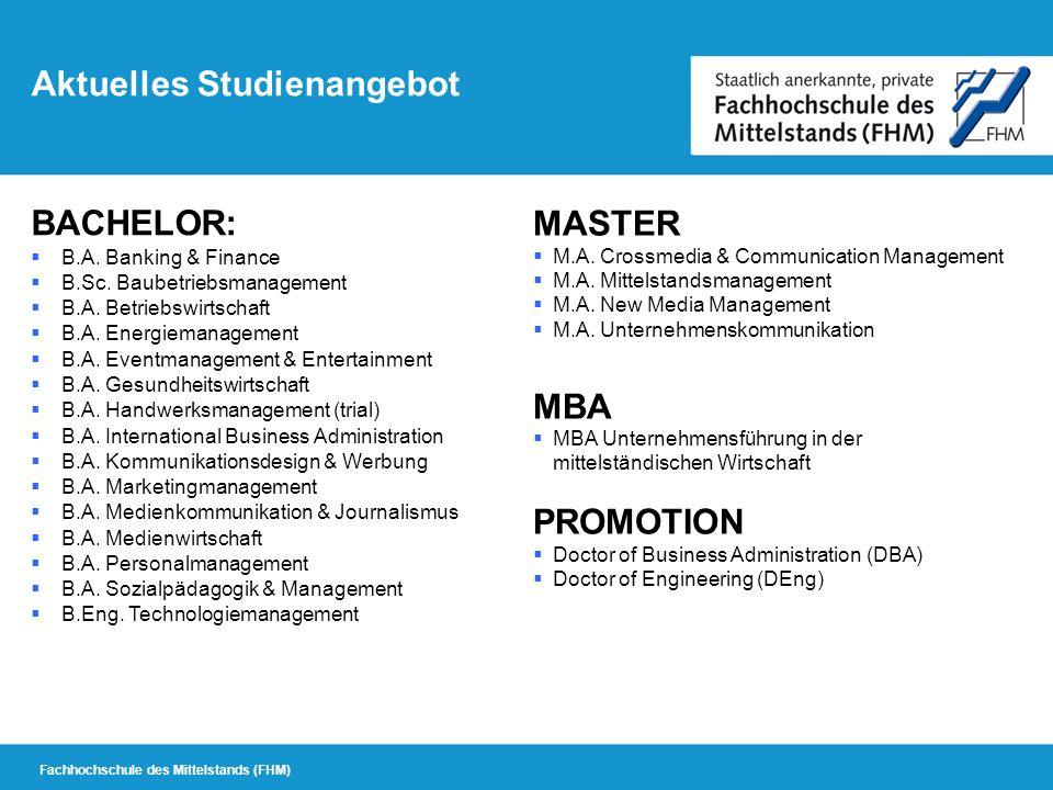 Studienzentrum am Hanse-Campus-Lübeck der FHM Welche Regeln gelten für das Fernstudium.