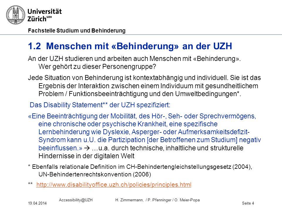 Fachstelle Studium und Behinderung 1.