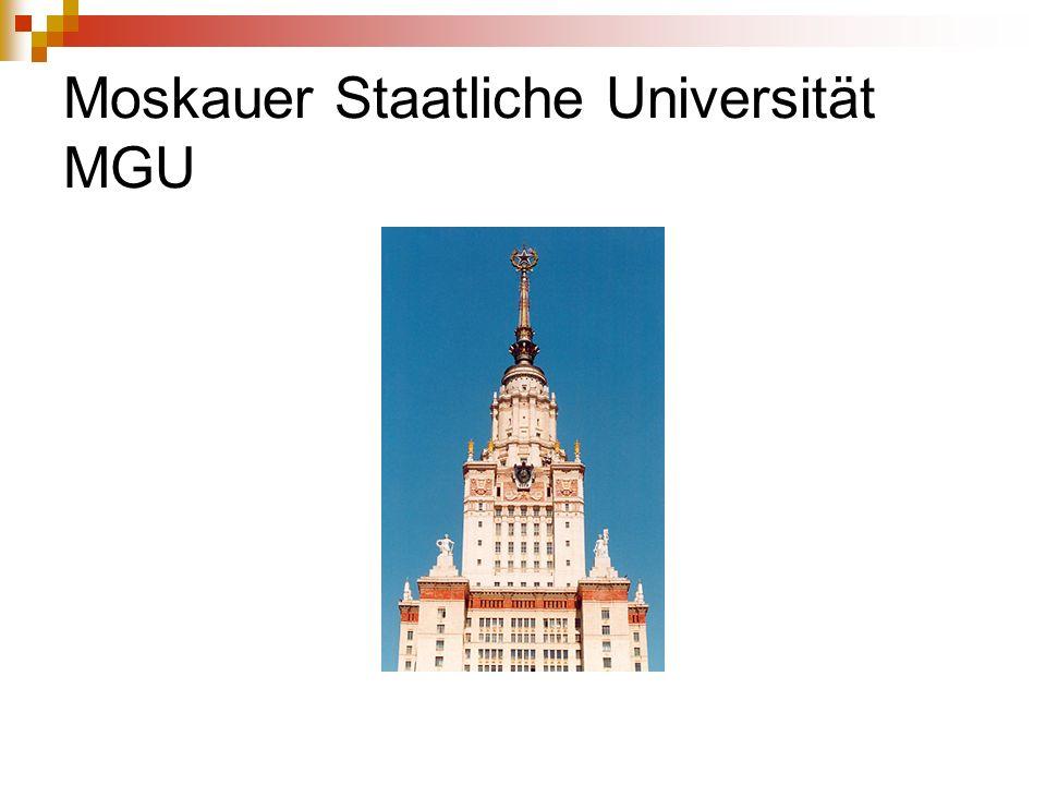 Moskauer Staatliche Universität MGU