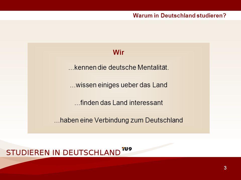 4 Warum in Deutschland studieren.